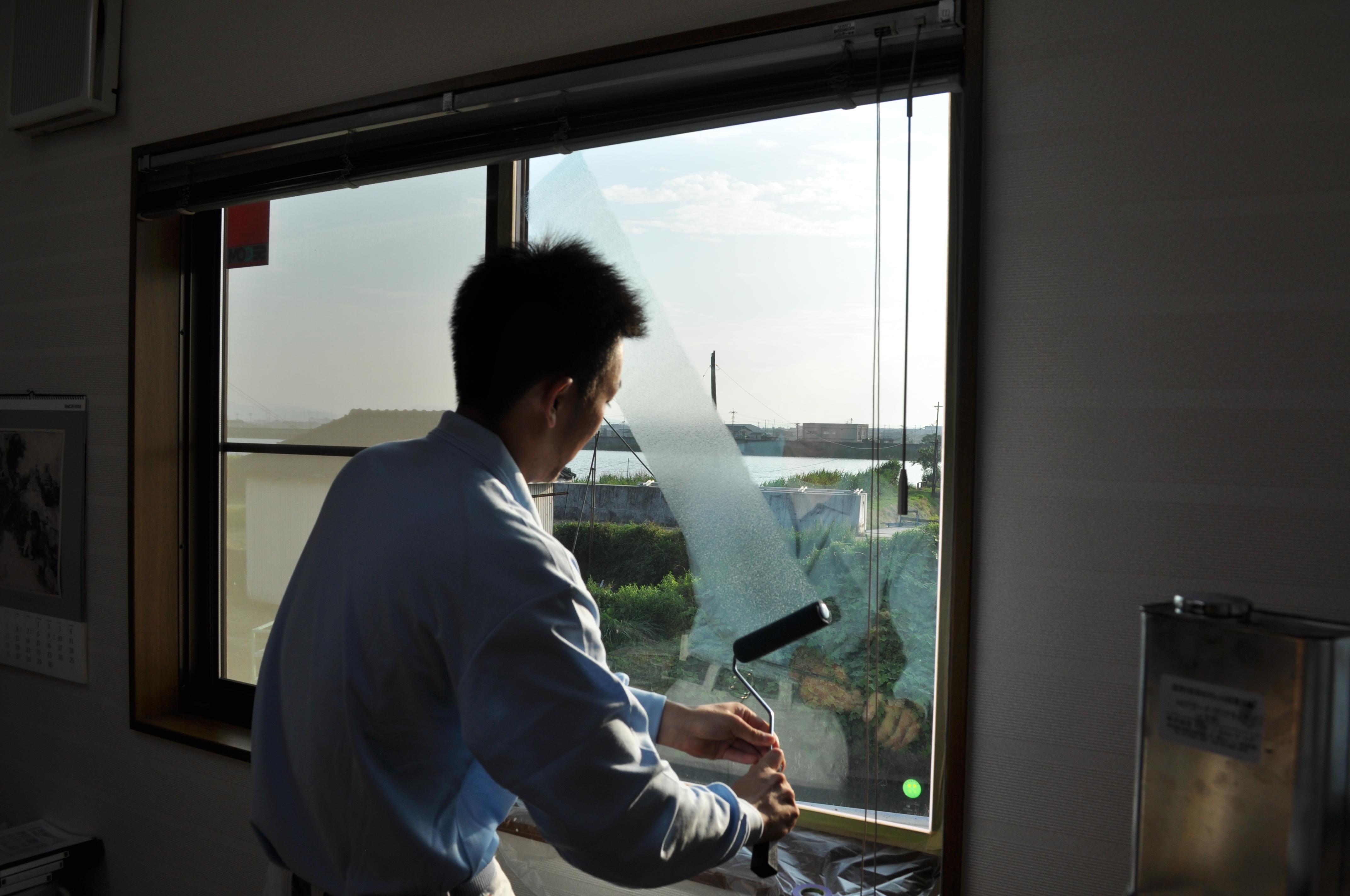 窓ガラスの断熱・節電コーティング